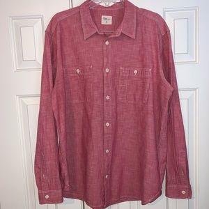EUC Gap Long Sleeve Button Down Shirt Size XlL.